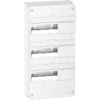 Resi9 - Coffret en saillie Blanc (RAL 9003)- 3 rangées de 13 modules