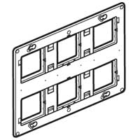 SUPPORT BATIBOX 2X6/8 MODULES
