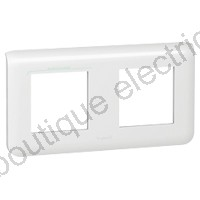 PLAQUE PROGRAMME MOSAIC - 2X2 MODULES - HORIZONTAL - BLANC